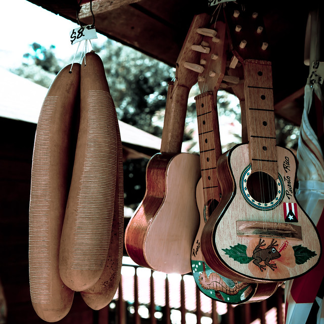 a history of cuatro in puerto rican musical instruments The musical traditions of the spanish and africans can also be heard in puerto rico's music at least four different instruments were adapted from the six-string spanish classical guitar: the requinto , the bordonua , the cuatro , and the triple , each of which produces a unique tone and pitch.