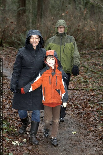nick on the trail with his grandparents