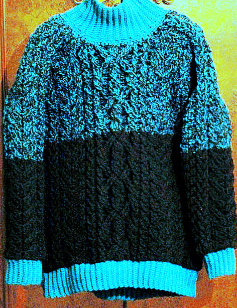 Ravelry: February Lady Sweater pattern by pamela wynne