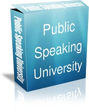 Public Speaking University (cover shot) from Flickr via Wylio