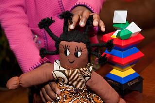 Nigerian Doll Lourdie 5th Birthday December 30, 201020