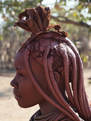 Himba hairstyle