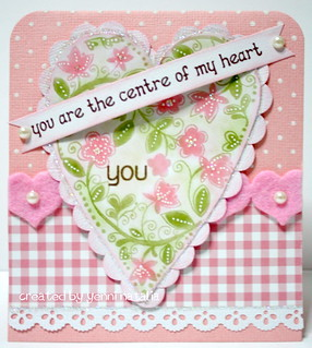 you are the centre of my heart