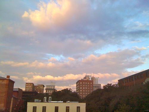 clouds sunrise january savannah 2011