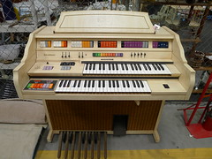 computer component(0.0), celesta(0.0), fortepiano(0.0), harmonium(0.0), player piano(0.0), string instrument(0.0), electronic device(1.0), musical keyboard(1.0), keyboard(1.0), spinet(1.0), electronic keyboard(1.0), electric piano(1.0), organ(1.0), electronic instrument(1.0),