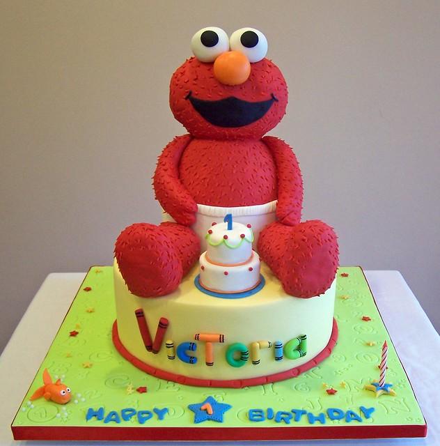 Cake Designs Elmo : Elmo Cake Flickr - Photo Sharing!