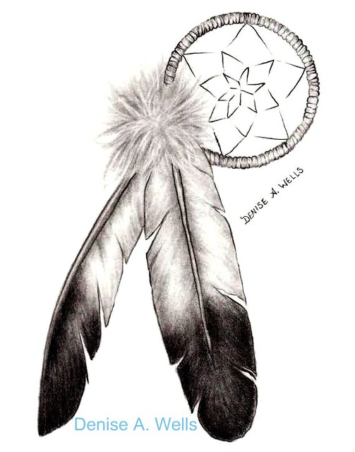 Eagle Feathers/Dreamcatcher by