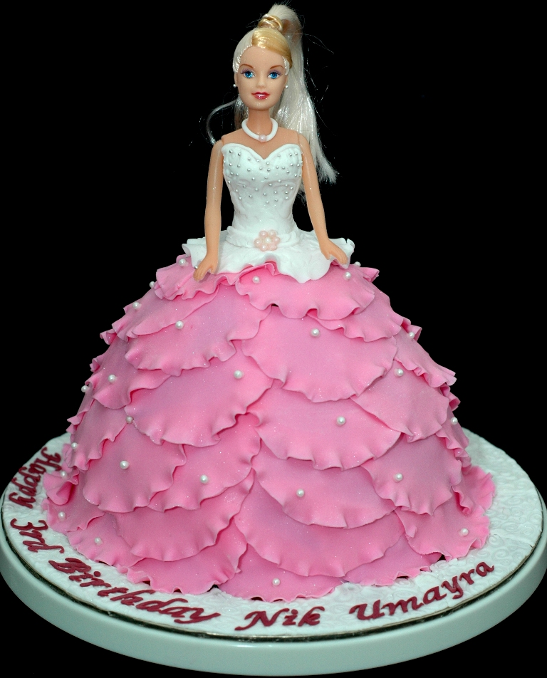Doll Cake Images With Name : Lea Oven: Pink Doll Cake