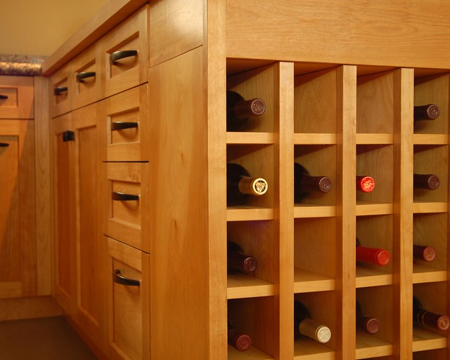Aptos kitchen built in wine rack flickr photo sharing for Wine rack built in