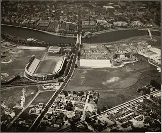 Brighton. Harvard Business School. Stadium