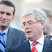 Eamon Gilmore announcing Labour has tabled a motion of no confidence in the Government.