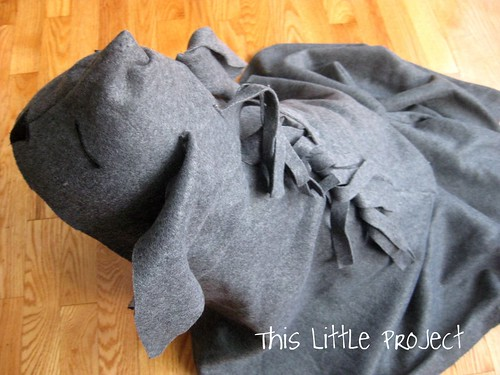 This little project diy nativity costumes donkey and camel here is the donkey costume solutioingenieria Choice Image