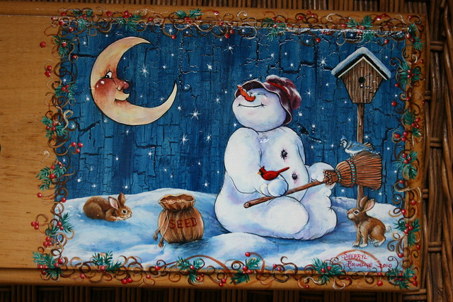 5363178015 b2a89d0976 for How to paint snowmen