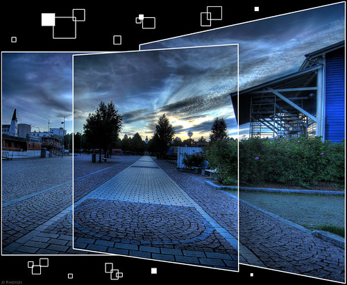 sky panorama cobblestone hdr