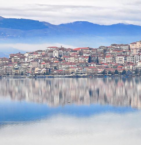 lake greece grc kastoria ελλάδα kastorias λίμνη καστοριά