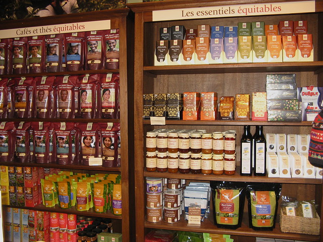 Fair Trade Shelves