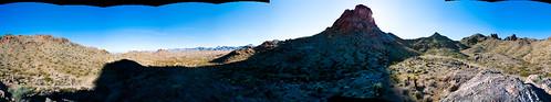 arizona panorama desert hiking pentaxk20d