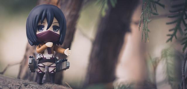 Photo:Mikasa Ackerman By:IQRemix