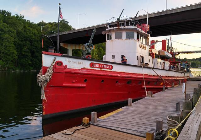 9-11-2016-NY Fire Boat John J. Harvey--Kingston, NY