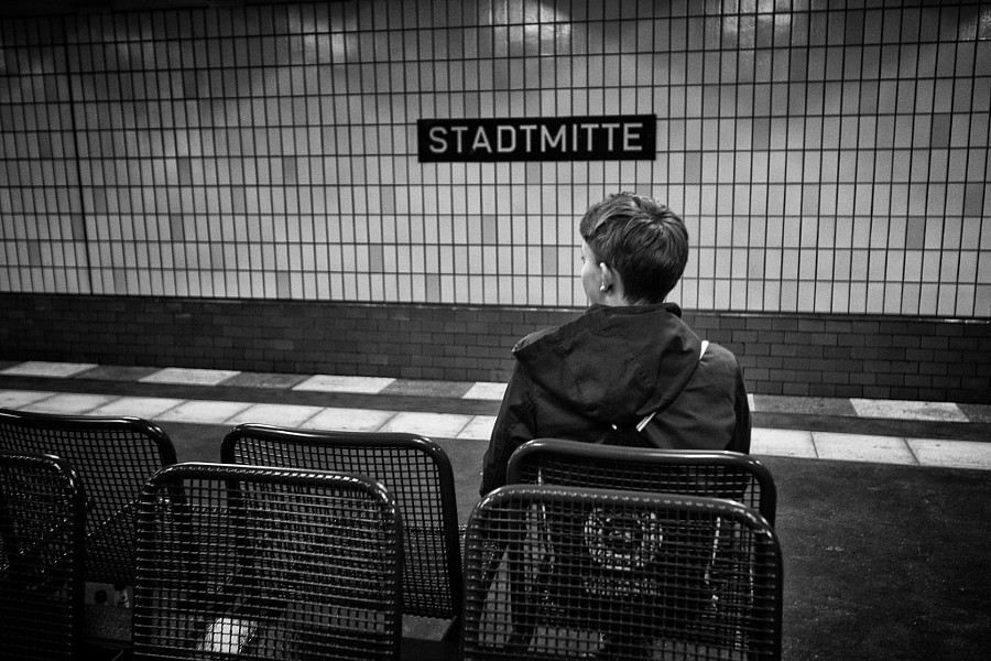 l'inconnu de Stadmitte Station