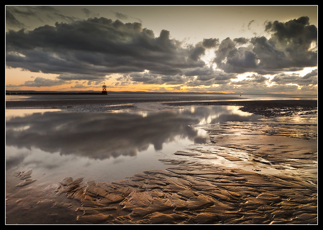 Mersey Mouth, Crosby Beach. Explore Frontpage