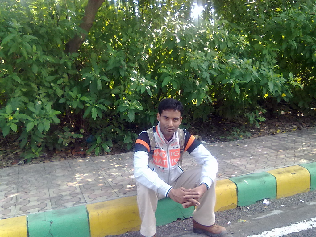 Alok in CSJM University-Kanpur