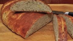 Mmm...whole clove garlic bread