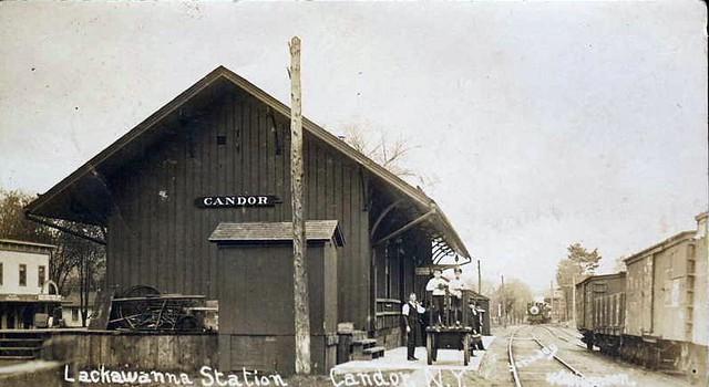 DL&W Station, Candor, NY