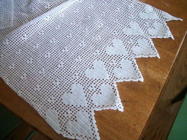 Filet Crochet Curtain Pattern Thefind Rachael Edwards