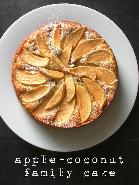 apple-coconut family cake | Tuesdays with Dorie awhiskandasp ...