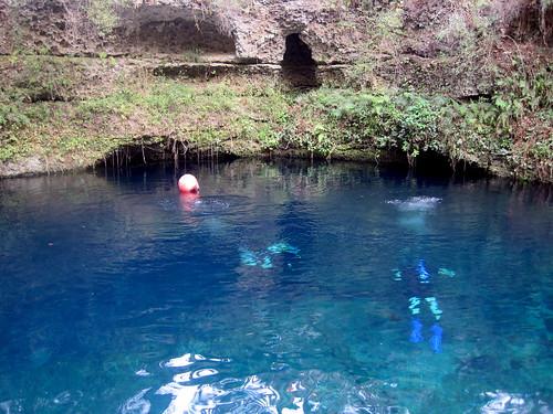 water florida scuba limestone sinkhole aquifer bluegrotto