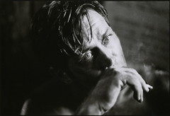 Martin Sheen on set of Apocalypse Now, weeks after suffering near fatal heart attack, by Mary Ellen Mark