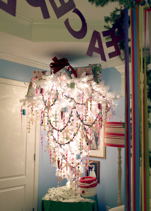 Homemade Holiday Diveintoyesterday A Whimsical Upside