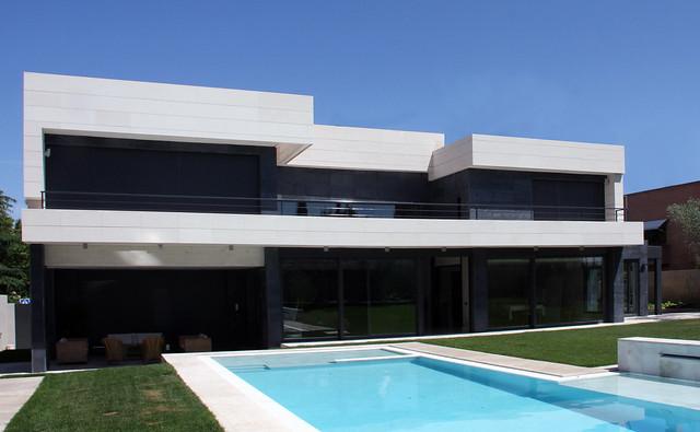 Fachada en vivienda flickr photo sharing - Casas de a cero ...