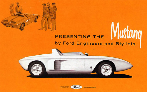 1962 Ford Mustang I Concept Car Brochure - USA by Five Starr Photos ( Aussiefordadverts)