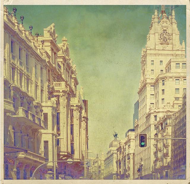Madrid, Calle Alcalá