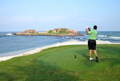 Golf Green Island by jurvetson