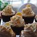 Small photo of Banana Praline Cupcakes