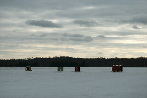 This weather can only mean one thing...ICE FISHING