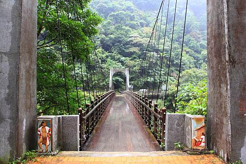 GC83烏來-信賢步道-信賢吊橋