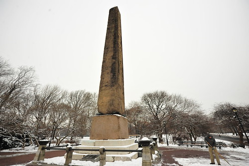 CLEOPATRA'S NEEDLE / Central Park's OBELISK - Manhattan NYC - 01/08/10
