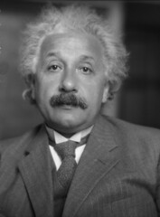 Albert Einstein, by Johan Hagemeyer 1931