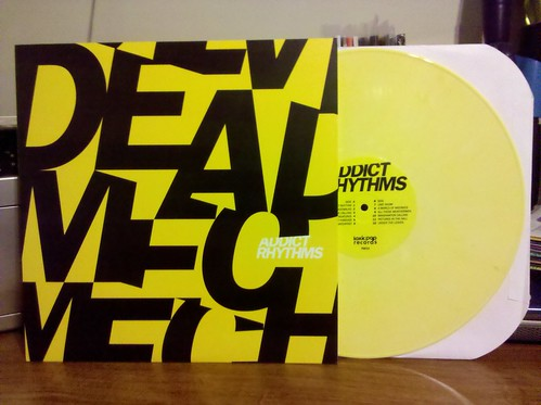 Dead Mechanical - Addict Rhythyms LP - Yellow Vinyl / 100