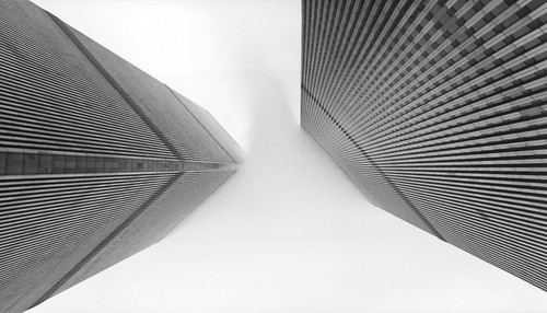 Hereafter (World Trade Center), NYC [Film Scan] by flatworldsedge