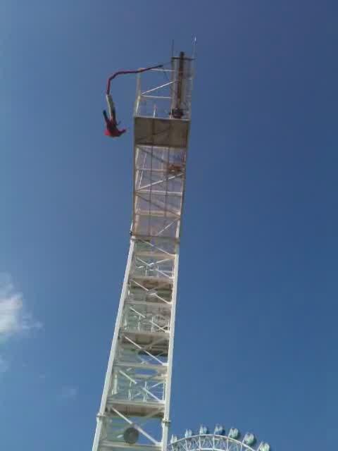 Me, Bungee Jumping @ Okayama, 岡山、鷲羽山