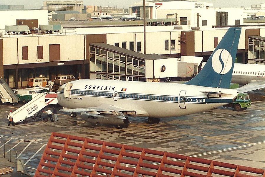 OO-SBQ Boeing 737-229 Sobelair
