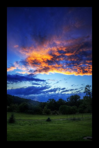 sunset clouds connecticut gimp ct hdr photomatix windhamcounty qtpfsgui ballouville