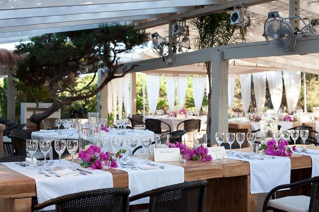 El Chiringuito, Ibiza wedding venue