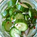 Marinated Cucumber Chips 1