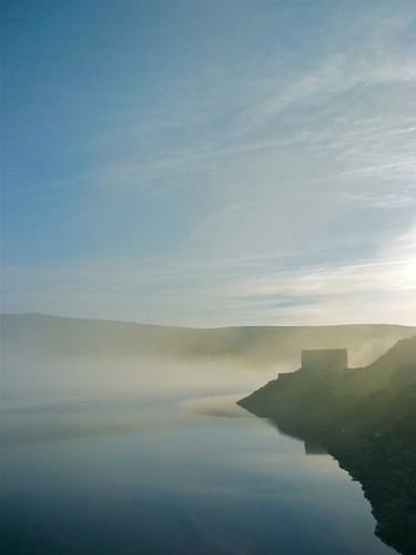 Sulby Reservoir Mist